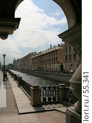 Купить «Санкт-Петербург. Вид на канал Грибоедова», фото № 55341, снято 20 мая 2007 г. (c) Александр Секретарев / Фотобанк Лори