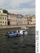 Купить «Санкт-Петербург, вид на реку Фонтанку», фото № 55345, снято 20 мая 2007 г. (c) Александр Секретарев / Фотобанк Лори