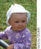 Купить «Маленький ребёнок. В парке. Девочка.», фото № 55841, снято 24 июня 2007 г. (c) Тим Казаков / Фотобанк Лори