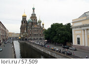 Купить «Санкт-Петербург, Собор Спаса на Крови», фото № 57509, снято 25 июня 2007 г. (c) Александр Секретарев / Фотобанк Лори