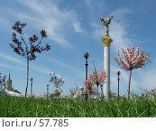 Купить «Киев. Майдан незалежности. Весна», эксклюзивное фото № 57785, снято 3 мая 2005 г. (c) Ольга Визави / Фотобанк Лори