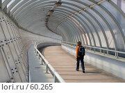 Купить «Пешеходный переход на Третьем транспортном кольце в Москве», фото № 60265, снято 19 мая 2007 г. (c) Юрий Синицын / Фотобанк Лори