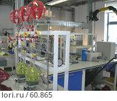 Купить «Современная химическая лаборатория», эксклюзивное фото № 60865, снято 14 августа 2006 г. (c) Татьяна Юни / Фотобанк Лори