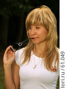 Купить «Обсудим», фото № 61049, снято 24 июня 2007 г. (c) Смирнова Лидия / Фотобанк Лори