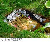 Купить «Камни в воде», фото № 62877, снято 17 июля 2007 г. (c) Тим Казаков / Фотобанк Лори