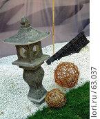 Купить «Декоративные предметы для ландшафтного дизайна», фото № 63037, снято 17 июля 2007 г. (c) Тим Казаков / Фотобанк Лори