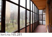 Купить «Интерьер. Балкон», фото № 65281, снято 19 января 2007 г. (c) Ирина Мойсеева / Фотобанк Лори