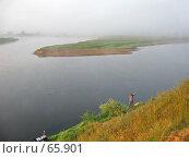 Купить «Рыбалка на реке», фото № 65901, снято 11 августа 2006 г. (c) Наталия Евмененко / Фотобанк Лори