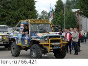 Купить «УАЗ внедорожник», фото № 66421, снято 28 июля 2007 г. (c) Андрияшкин Александр / Фотобанк Лори