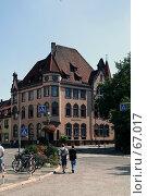 Купить «Германия. Эйнбек. Городской пейзаж», фото № 67017, снято 18 июля 2007 г. (c) Александр Секретарев / Фотобанк Лори