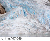 Купить «Прогулка по леднику», фото № 67049, снято 17 июля 2006 г. (c) Михаил Лавренов / Фотобанк Лори