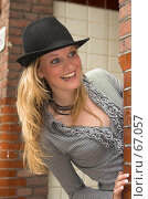 Купить «Подглядывание из-за угла», фото № 67057, снято 24 сентября 2006 г. (c) Михаил Лавренов / Фотобанк Лори