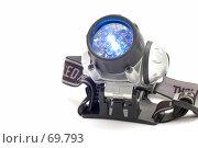 Купить «Светодиодный фонарь», фото № 69793, снято 7 августа 2007 г. (c) Угоренков Александр / Фотобанк Лори