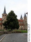 Купить «Германия. Хилдесхейм. Городской пейзаж», фото № 70217, снято 12 июля 2007 г. (c) Александр Секретарев / Фотобанк Лори