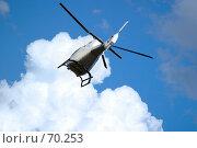 Купить «Вертолет», фото № 70253, снято 5 июля 2005 г. (c) Морозова Татьяна / Фотобанк Лори