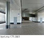 """Купить «Станция метро """"Воробьевы горы""""», фото № 71061, снято 29 июля 2007 г. (c) urchin / Фотобанк Лори"""