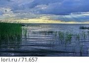 Купить «Переславль-Залесский. Плещеево озеро. На закате.», фото № 71657, снято 14 июля 2007 г. (c) Захаров Владимир / Фотобанк Лори