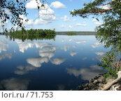 Облака в воде. Стоковое фото, фотограф Юрий Драгунов / Фотобанк Лори
