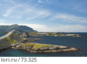 Купить «Дорога. Норвегия.», фото № 73325, снято 19 июля 2006 г. (c) Михаил Лавренов / Фотобанк Лори