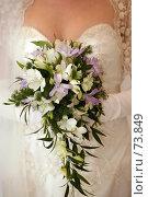 Купить «Свадебный букет», фото № 73849, снято 18 августа 2007 г. (c) Морозова Татьяна / Фотобанк Лори