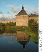 Купить «Крепость в Старой Ладоге», фото № 74681, снято 20 января 2005 г. (c) Елена Яковенко / Фотобанк Лори