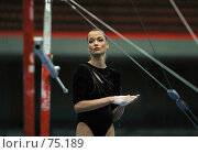 Купить «Гимнастка Светлана Хоркина», фото № 75189, снято 13 июня 2004 г. (c) Морозова Татьяна / Фотобанк Лори