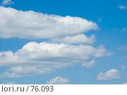 Купить «Облака», фото № 76093, снято 23 июня 2007 г. (c) Угоренков Александр / Фотобанк Лори
