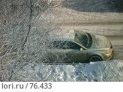 Купить «Замерзший», фото № 76433, снято 19 января 2006 г. (c) Морозова Татьяна / Фотобанк Лори