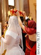 Купить «Венчание», фото № 78777, снято 27 июля 2007 г. (c) Екатерина Тимонова / Фотобанк Лори