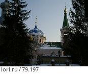 Купить «Вознесенский кафедральный собор. Новосибирск», фото № 79197, снято 15 марта 2005 г. (c) Derinat / Фотобанк Лори