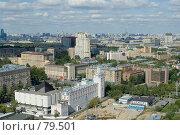 Купить «Панорама Москвы. Юго-Запад», фото № 79501, снято 2 сентября 2007 г. (c) Юрий Синицын / Фотобанк Лори