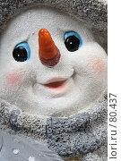 Купить «Лицо снеговика», фото № 80437, снято 10 августа 2007 г. (c) Максим Соколов / Фотобанк Лори