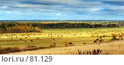 Осенний пейзаж. Стоковое фото, фотограф Вячеслав Осокин / Фотобанк Лори