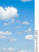Купить «Облака», фото № 81353, снято 23 июня 2007 г. (c) Угоренков Александр / Фотобанк Лори