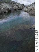 Купить «Полярный Урал. Чистая горная вода», фото № 81525, снято 7 августа 2007 г. (c) Роман Коротаев / Фотобанк Лори