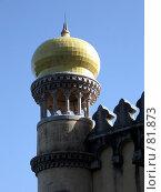 Купить «Угловая башенка в восточном стиле», эксклюзивное фото № 81873, снято 29 июля 2007 г. (c) Михаил Карташов / Фотобанк Лори