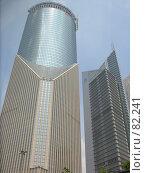Купить «Небоскребы. Шанхай. Китай», фото № 82241, снято 8 сентября 2007 г. (c) Екатерина Овсянникова / Фотобанк Лори