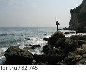 Купить «Символ Будвы - прекрасная юная девушка», фото № 82745, снято 31 августа 2007 г. (c) Fro / Фотобанк Лори