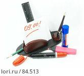 Купить «Письменный прибор. (Desk set.)», фото № 84513, снято 13 сентября 2007 г. (c) Анатолий Теребенин / Фотобанк Лори