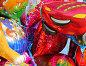 Разноцветные шары, фото № 88033, снято 16 сентября 2007 г. (c) Parmenov Pavel / Фотобанк Лори