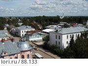 Купить «Великий Устюг. Панорама города», фото № 88133, снято 2 августа 2007 г. (c) Екатерина Соловьева / Фотобанк Лори