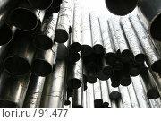 Купить «Фрагмент памятника Сибелиусу.Хельсинки», фото № 91477, снято 2 января 2005 г. (c) Михаил Мандрыгин / Фотобанк Лори