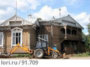 Купить «Великий Устюг. Дорожные работы.», фото № 91709, снято 2 августа 2007 г. (c) Екатерина Соловьева / Фотобанк Лори