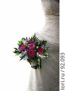 Купить «Свадебный букет», фото № 92093, снято 29 сентября 2007 г. (c) Морозова Татьяна / Фотобанк Лори