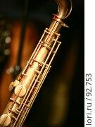 Купить «Саксофон  Saxophone», фото № 92753, снято 19 ноября 2006 г. (c) Морозова Татьяна / Фотобанк Лори