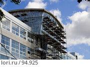Купить «Строительство нового факультета Московского Государственного Университета», фото № 94925, снято 11 сентября 2007 г. (c) Донцов Евгений Викторович / Фотобанк Лори
