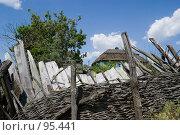 Подворье в станице Еланской Ростовской области. Стоковое фото, фотограф Борис Панасюк / Фотобанк Лори