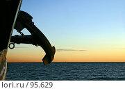 """Купить «""""Крузенштерн""""», фото № 95629, снято 21 июля 2007 г. (c) Сергей Козинцев / Фотобанк Лори"""