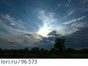 Купить «Вечерний пейзаж», фото № 96573, снято 14 августа 2007 г. (c) Герман Молодцов / Фотобанк Лори