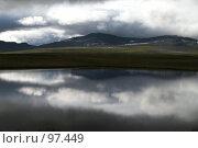 Купить «Полярный Урал. Озеро.», фото № 97449, снято 8 августа 2007 г. (c) Роман Коротаев / Фотобанк Лори